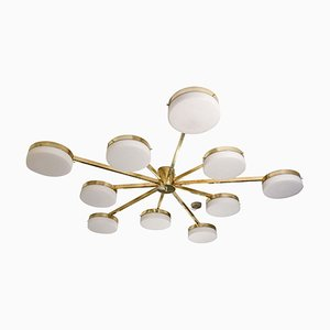 Deca Drums Brass Structure Ceiling Light