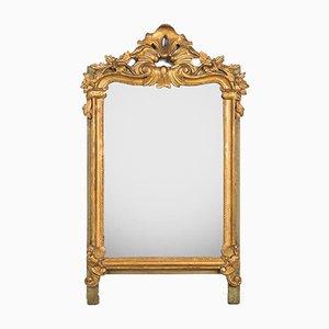 Antique Flower Mirror