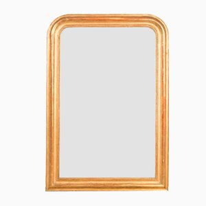 Gold and Red Louis Philippe Style Mirror