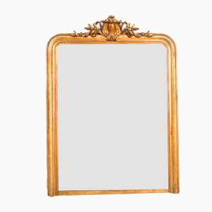 Mirror with Shield Cartouche