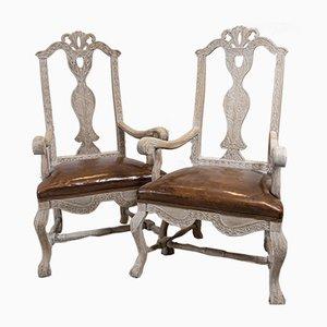 Swedish Side Chairs, Set of 2