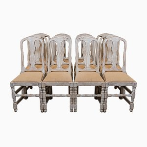 Dining Chairs, Sweden, 1940s, Set of 12