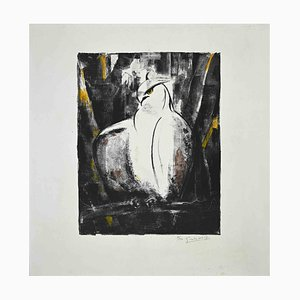 Giselle Halff, Falcon, Original Lithograph, 1965