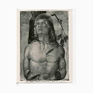 Unknown, St. Sebastian, Vintage Photo Detail, Early 20th Century