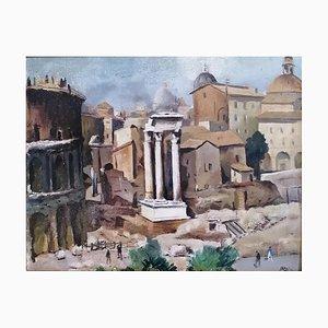 Luigi Surdi Rome, al Foro Romano, 1942