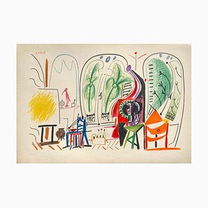 Carnet De Californie 31, Arches, Pablo Picasso