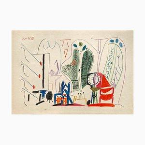 Carnet De Californie 30, Arches, Pablo Picasso