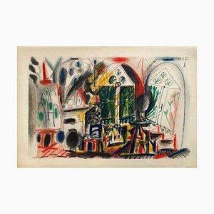 Carnet De Californie 36, Arches, Pablo Picasso
