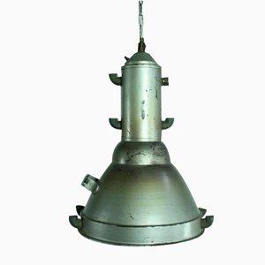 Large Vintage Industrial Metal Pendant Light