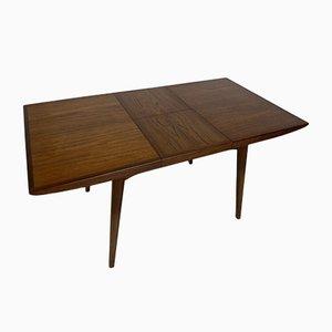 Vintage Scandinavian Style Teak Dining Table by Louis Van Teeffelen for Wébé, 1960s
