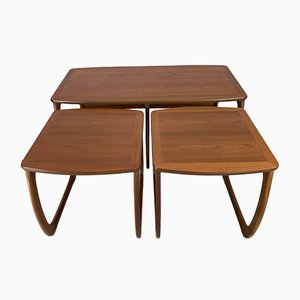 Vintage Nesting Tables from G-Plan, Set of 3
