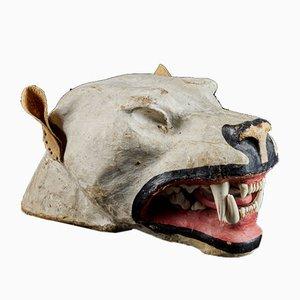 Papier Maché Taxidermy Lions Head