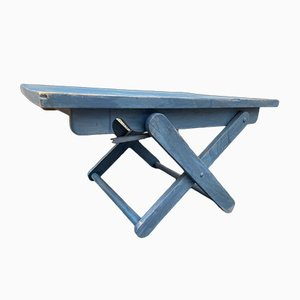 French Blue Coffee Table
