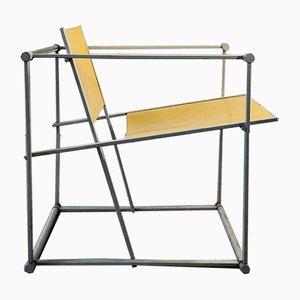 Dutch Model Cubic FM 60 Dining Chairs by Radboud Van Beekum for Pastoe, 1980s, Set of 4