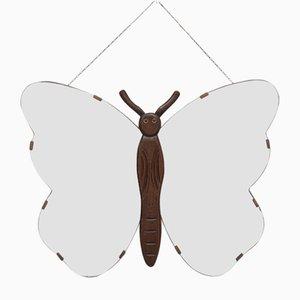 Art Deco Butterfly Mirror, 1940s