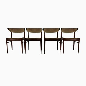 Dining Chairs by Louis Van Teeffelen for Awa Holland, Set of 4