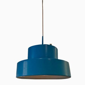 Mini Ceiling Lamp in Blue Bumling by Anders Pehrson for Atelje Lantern, 1960s