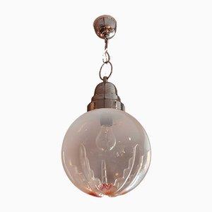Murano Glass Ceiling Lamp, 1970s
