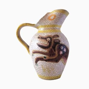Earthenware Jug by Guido Gambone, 1960s