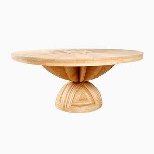 Rosa dei Venti table by Mario Ceroli for Poltronova, 1970s