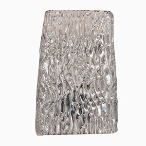 Wandlampen aus geformtem Glas von JT Kalmar, 1960er