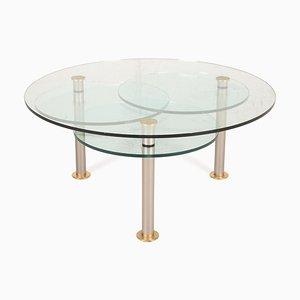 K180 Glass Coffee Table by Ronald Schmitt