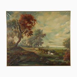 Ugo Ferrero, Oil on Canvas