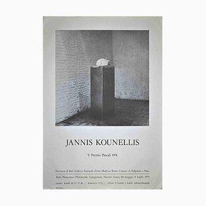Jannis Kounellis, Exhibition Poster, 1978