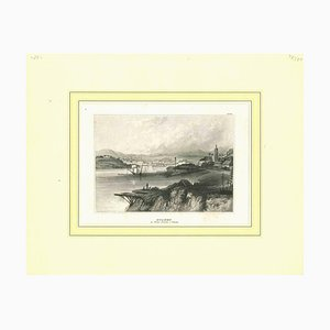 Unknown, Ancient View of Sydney, Lithograph, Mid-19th Century