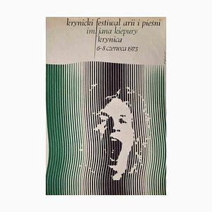 Stanislaw Kluczykowki, Krynica Festival, Offset Print, 1975