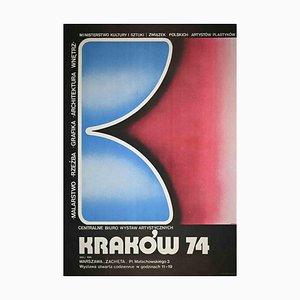 J. Wysocki, Krakow 74, Vintage Poster, 1974