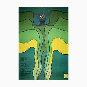 Unknown, 6th Biennale Warsaw, Offset Print Poster, 1976