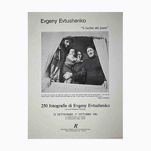 Unknown, Evgeney Evtushenko, Exhibition Poster, 1981