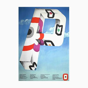 Unknown, Biennial Warsaw, Vintage Poster, 1974