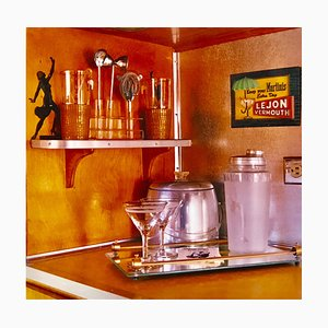 Martini Corner, Bisbee, Arizona, Vintage Interior Color Photograph, 2001