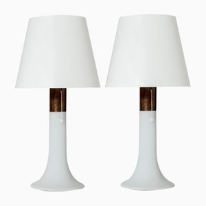 Glass Table Lamps by Lisa Johansson-Pape, Set of 2
