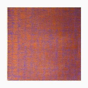 Susan Bleakley, Quilted Memory, Abstraktes Ölgemälde, 2018
