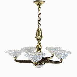 Art Deco Ceiling Lamp from Petitot