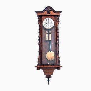 Antique Cord Wall Clock, 1890s