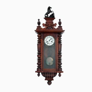 Antique German Wall Clock, 1930s