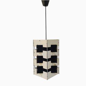 Ceiling Lamp by J. J. M. Hoogervorst for Anvia Almelo, 1960s