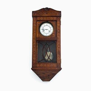 Antique German Wall Clock, 1900