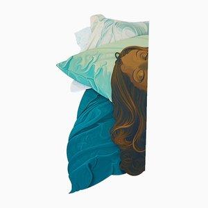 Pillow Talk, dipinto di Colin McMaster, 2020