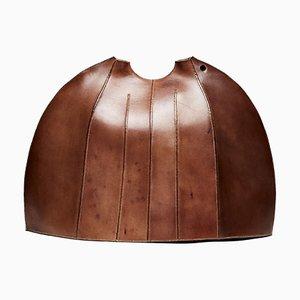 Leather Bombard Dyad Vessel by Frances Pinnock, 2020