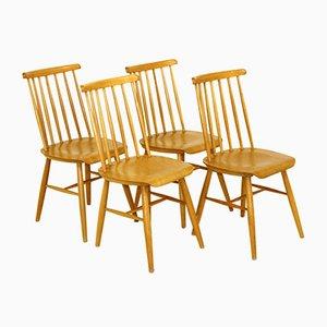 Pinnstol Chairs, Sweden, 1960s, Set of 4