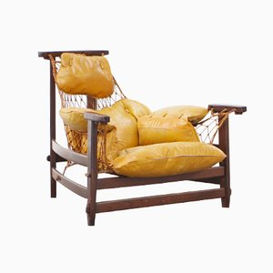 Captain Chair by Jean Gillon for Italma Wood Art,