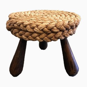 Rope Stool by Adrien Audoux and Frida Minet, 1950s
