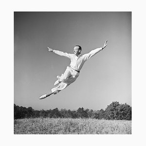 Fred Astaire Photo Session Pigment Fine Art Baryta Print by Michael Ochs Archive