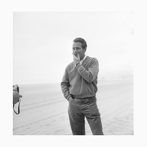 Newman Poses Pigment Fine Art Baryta Print by Hulton Archive