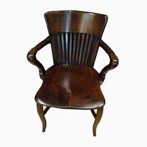 Antique Oak Office Chair